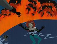 Batman Adventures Animated Series-Original Production Cel-Poison Ivy-Chemistry