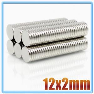 10pcs 12x2mm Super Powerful Strong Round Neodymium Disc Magnets N35 Rare Earth