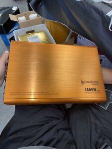 bridgeable tour-channel power amplifier Super MOSFET Amplifier 4500w max (4 Ch)