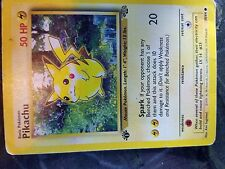 Pikachu First Edition Jungle 1995 Ultra Rare!  60/64 NEAR MINT CONDITION