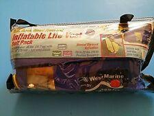 Inflatable Belt Pack Life Jacket Adult Pfd Manual Inflator West Marine Inshore