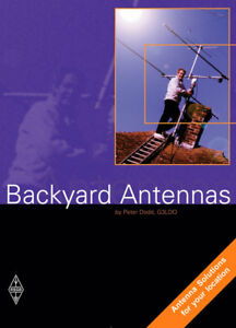 Backyard Antennas - Amateur / Ham Radio book - FREE UK POSTAGE