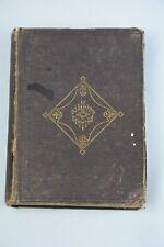 Vintage 1868 Book The Poetical Works of John Greenleaf Whittier Ticknor & Fields