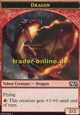 Token - Dragon (Spielstein - Drache) Magic 2015 M15 Magic