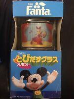 Walt Disney Japan Fanta Daisy Duck Flicker Glass With Box
