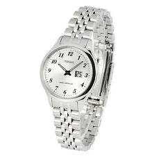 Elegante MARQUIS Damen Funkarmbanduhr Edelstahl Armbanduhr Damenuhr 983.4780