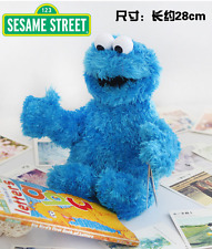 "Sesame Street Cookie Monster 11 "" Inch Plush Stuffed Toy New Good Buddy"