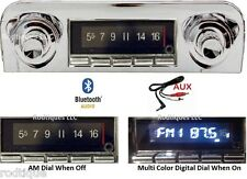 1959-1960 Chevy Bluetooth Stereo Radio Impala & Bel Air Multi Color Display 740