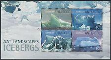AAT / Austral. Antarktis 2011  - Mi-Nr. Block 6 ** - MNH - Eisberge