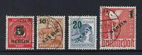 GERMANY BERLIN 1949 OVERPRINT SET Nº 47/50 USED