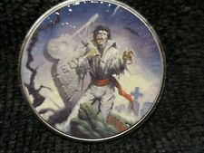 """2019 Silver Eagle Colorized  """" Elvis Lives """" all new"""