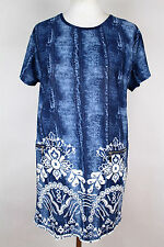 NEW WOMEN  TUNIC  size  18/20 TOP  SHORT SLEEVE  BLOUSE   1468