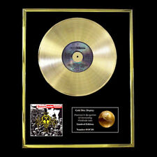 QUEENSRYCHE OPERATION MINDCRIME CD GOLD DISC RECORD FREE P&P