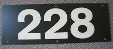 Vintage New York Subway Car Number Board Plate Identification Sign R-44 228