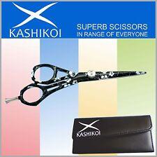 """Professional Barber Hair Scissors & Shears White Flowers 5.5"""""""