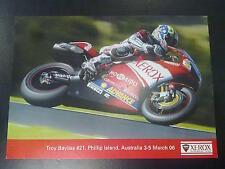 Xerox Ducati WSB Team 2006 #21 Troy Bayliss (AUS)