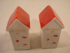 Vintage.....Ceramic.....I'm Fulla , Outhouses.....Salt & Pepper Shakers