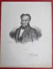 LITHOTOGRAPHIE de DELPECH d'après MAURIN  François Joseph DOUBLE Medecin