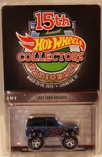 Hot Wheels 15th Nationals/Convention 1967 Ford Bronco Only 2000 Made Real Riders