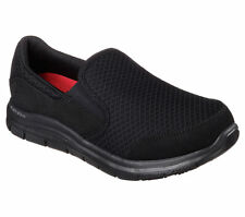 Skechers 76580 Women's COZARD Work Slip Resistant Slip On  BLACK
