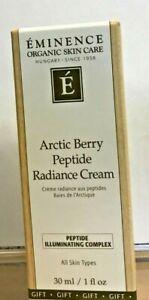 Eminence Arctic Berry Peptide Radiance Cream Illuminating Complex 1oz/30mL New