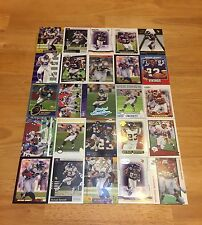 MICHAEL BENNETT LOT OF 25 FOOTBALL CARDS MINNESOTA VIKINGS CHIEFS RB WISCONSIN
