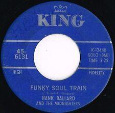 HANK BALLARD & MIDNIGHTERS funky soul train u.s. king 45RPM 6131_1967 funk
