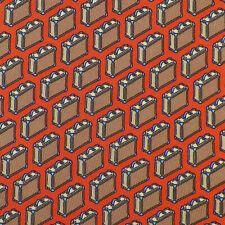 HERMES Orange Brown Blue BRIEFCASE ATTACHE 5353 TA Silk Tie France NWT
