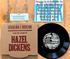 FOLK 45: CATHERINE IRWIN & WOODEN WAND Sing the Songs of Hazel Dickens PIAPTK