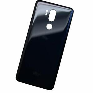 LG G7 Rear Back Battery Cover - Black // 100% New Parts // Shipped From CANADA