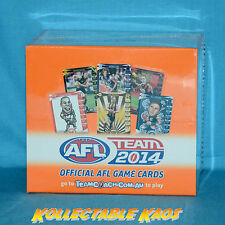 AFL - 2014 TeamCoach Full Sealed Unopened Box - 36 packets