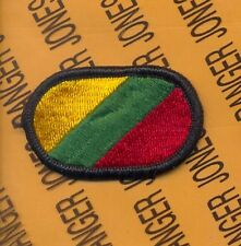 IMA Installation Management Agency Fort Bragg Airborne para oval patch m/e