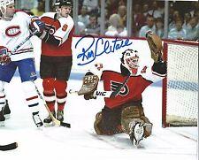 Autographed Ron Hextall 8x10 Philadelphia Flyers Photo - w/COA