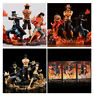 One Piece Three brothers Luffy & Sabo & Portgas·D· Ace Assemblage Figure 14-17CM