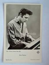 ELVIS PRESLEY old ORIGINAL vintage postcard photo cartolina foto Gilloon