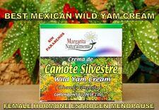 +  BEST MEXICAN WILD YAM CREAM 120ML FEMINIZER FEMALE HORMONE ESTROGEN MENOPAUSE