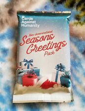 Cards Against Humanity Seasons Greetings Pack Christmas Holiday New Sealed 2017