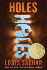 Newbery: Holes by Louis Sachar (2000, Paperback)