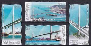 China Hong Kong 2009 Stonecutters Bridge stamps