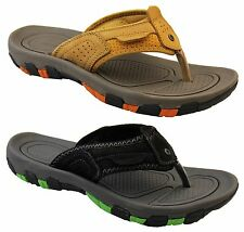 Mens Leather NORTHWEST TERRITORY Slip On Flip Flops Mules Sandals Sz Size 7-11