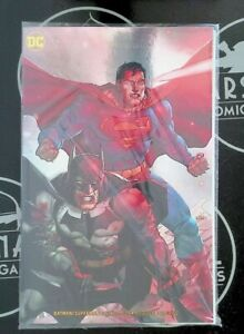 Batman/Superman #1 Yu Convention Exclusive Gold Foil Variant Polybagged 2020