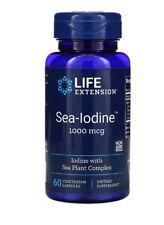 Life Extension Sea-Iodine 1000mcg, 60 Vegetarian Capsules