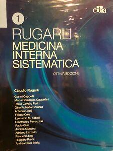 Medicina Interna Sistematica 2021 Rugarli 2 Volumi con Pin Code Accesso Online