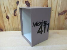 Dustjacket Sleeve ONLY – for 6-Book Set Missing 411 by David Paulides