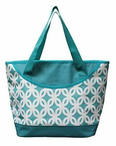 Earthwise INSULATED Grocery Bag Reusable Large Cooler Shopping Tote w ZIPPER