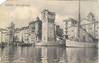 CARTOLINA SAVONA VISTA DEL PORTO 1911 BC19