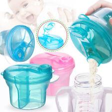 3 Doses Formula Container of Baby Milk Powder Dispenser Snack Pot Storage
