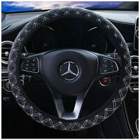 Car Steering Wheel Cover PU Leather 38cm Non-Slip Protection Cover HOT