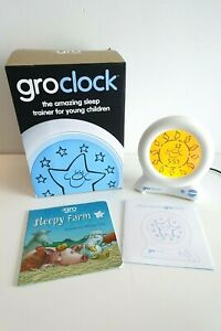 The Gro Company Groclock Sleep Trainer - Tested & Working