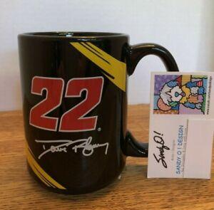 Nascar DAVE BLANEY #22 Black Mug Collectible 2007 14 oz ( NEW )